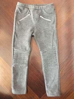 Zara Girls Grey Leggings