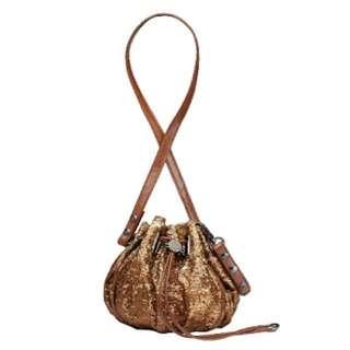 Mimco Sequin Mini Cocoon Bag