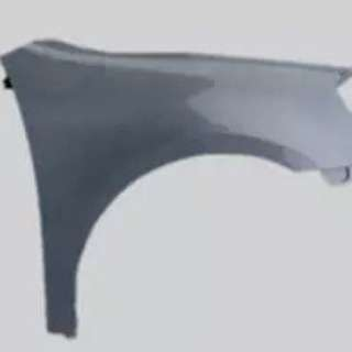 Volkswagen golf mk6 side wing
