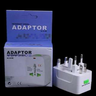 World Wide Universal Travel Power Charger Adapter Plug for AU/EU/UK/US
