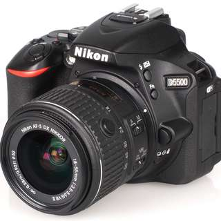 Kredit Dp 10% Nikon D5500 with AFP 18-55mm - Cicilan tanpa katu kredit