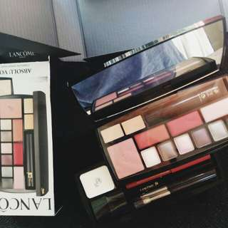 Authentic lancome complete palette