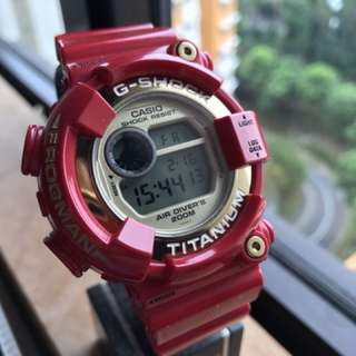 G-shock frogman used dw -8201