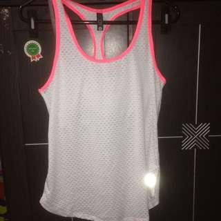 Cotton on tank wearactive + bra for sport