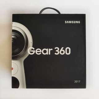 SAMSUNG Gear 360 (2017) in White