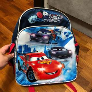 Lightning McQueen lightyear School Bag backpack