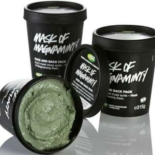 Lush Magnaminty Face and Body Mask