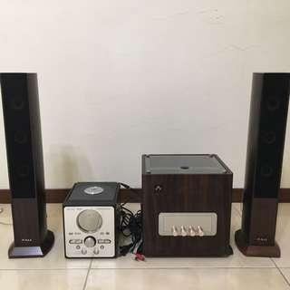 V.A.L VAL音響組+DV播放器
