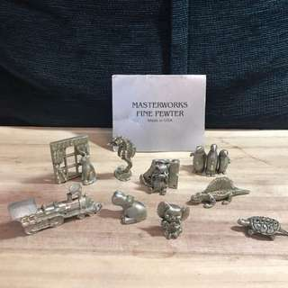 Masterworks Fine Pewter Made in USA 🇺🇸 美國白蠟擺件