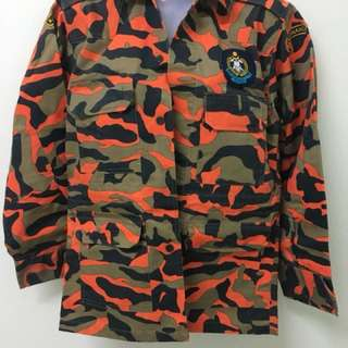 Uniform Kadet Bomba Koko Sekolah #CNY88