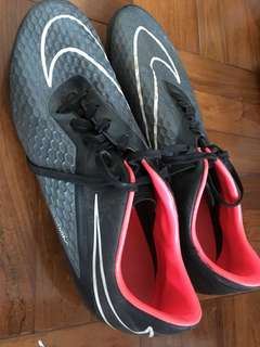 Man soccer shoes