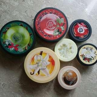 Body butter moisturizer & lip butters