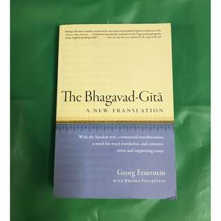 The Bhagavad - Gita (A new translation)