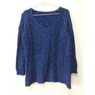 中長版針織毛衣