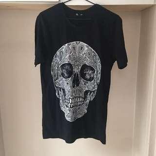 JAYJAYS Skull Print T-shirt