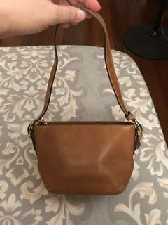 Coach mini shoulder bag