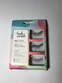 Lash & Wink false lashes in natural collection