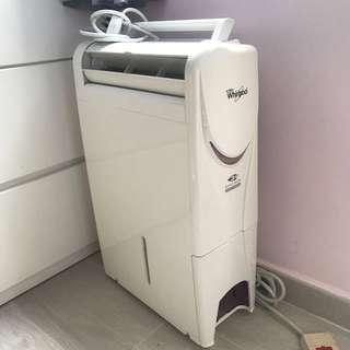 Whirlpool 惠而浦納米抽濕機 乾衣 空氣清新(超新淨)(已過保養)(故障機 broken)