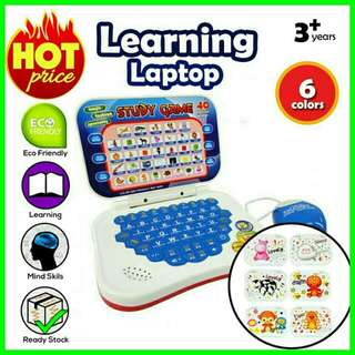 💝RS 💝Electronic Learning Laptop With Mouse