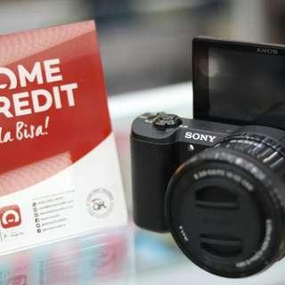 Nyicil kamera mirrorlesa tanpa kartu kredit bisa disini
