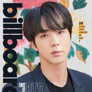 預訂 BTS billboard cover 雜誌