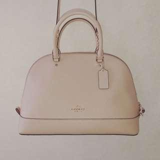 COACH Crossbody Handbag - BEIGE