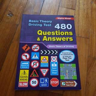 The highway code book 1 and 2 with question