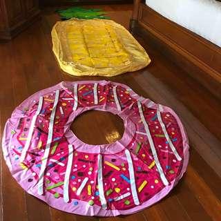 Pineapple / Donut float for rent