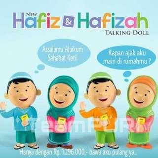Hafiz bilingual talking doll