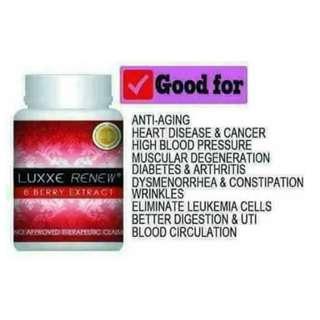 Luxxe Renew 8-berry extract