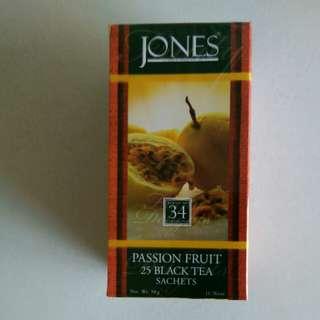 Jones Fruity Delights Passion Fruit Black tTea