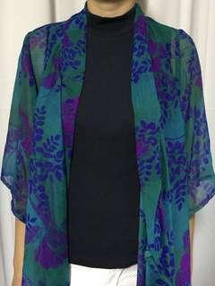 Floral Kimono Cover Up