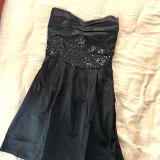 Tube gown (knee length)
