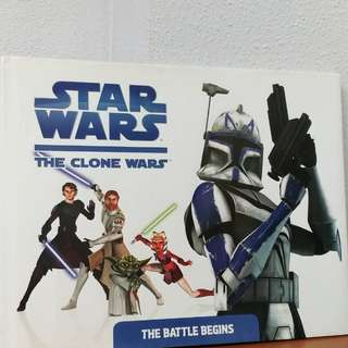 Star Wars the clone wars children book nt usborne ladybird