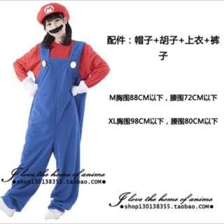 Super Mario 全套服裝 (男女皆有)