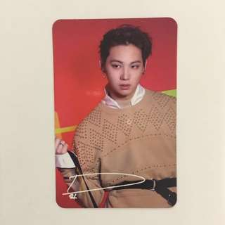 [ WTT ] GOT7 JB ARRIVAL PHOTOCARD