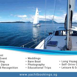 Yacht Bookings in Singapore