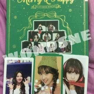 Twice merry&happy (merry ver) no poster