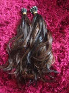 Human hair extensions 100%
