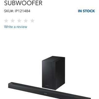 M360 Samsung Sound Bar