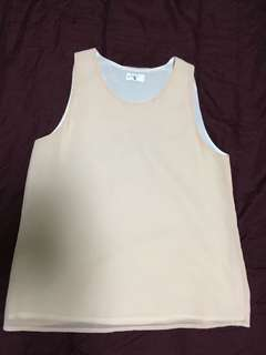 Light Pink Sleeveless Top