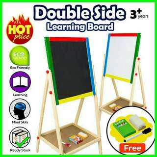💥RS💥 2 in 1 Writing Drawing Magnetic Adjustable Board