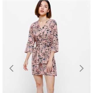 Love Bonito Felton Floral Printed Sash Dress