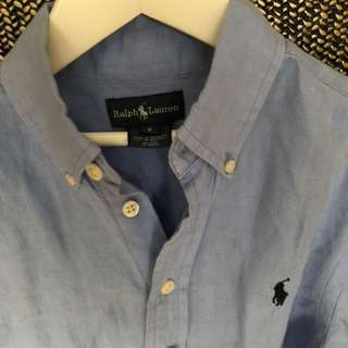 Ralph Lauren Polo long sleeved cotton shirt