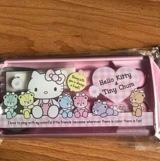 Hello kitty fork and spoon set brand new unused