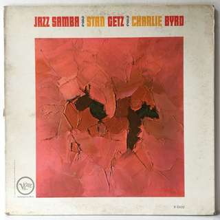 Stan Getz / Charlie Byrd ‎– Jazz Samba (1962 US Original - Vinyl is Very Good)