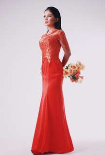 Long dress kebaya