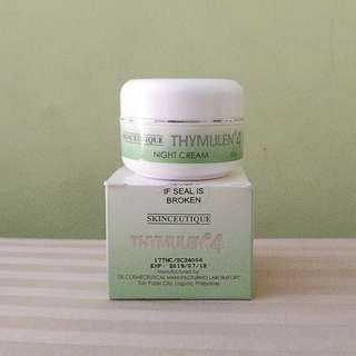 Thymulen 4 Night Cream by Skinceutique