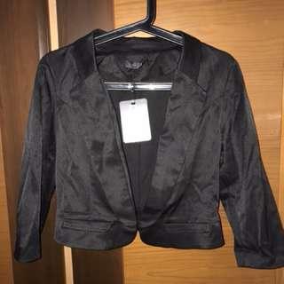 BNWT Black Jacket/Vest (Size M)