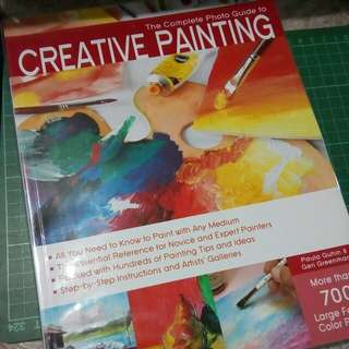 The Complete Guide To Creative Painting Book